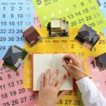 2020年地鎮祭・上棟式日取りカレンダー 家を建てる縁起のいい建築吉日
